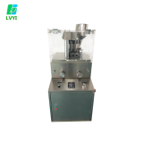 ZP-9B rotary tablet press machine with one free round mold