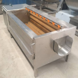 Carrot Peeler Machine Ginger , Kiwi Full Automatic