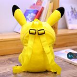 Pikachu backpack cartoon plush children's bag cute adult backpack