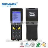 Handheld Wifi/Bluetooth/GPRS data collector PDA with barcode reader