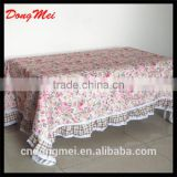 Beautiful Fabric painting designs on table cloth Sequin table cloth