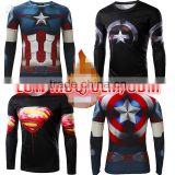 OEM ODM FACTORY Long Sleeve Sleeve and OEM Service Supply athletic sports wear rash guard
