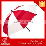cocktail dress promotional deluxe red and white golf umbrella                                                                         Quality Choice