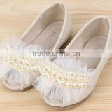 Pearl Lace Sandal Princess Shoes Hot Sales Baby Sandals Girls