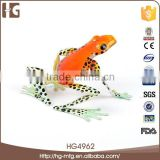 Made in china 16x14x9 CM frog shape metal handmade creative art gift crafts decorations for garden