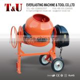 Gasoline/Electric Motor/Diesel light cement Mixer with280L,300L,320L,350L Charging Capacity