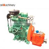 Marine diesel engine with gearbox 28hp electric starting for open type lifeboat in Dubai