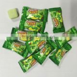 Inquiry about Center Filled Watermelon Flavor Bubble Gum For Wholesale