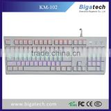 2016 TOPS usb backlit mechanical keyboard for computer desktop