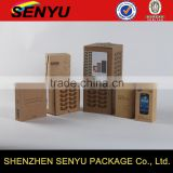 recyclabe feature cup boxes, cellphone boxes, brown craft paper packaging boxes                                                                                                         Supplier's Choice