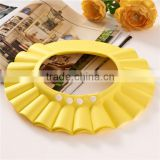 cute yellow baby bath shower cap best selling tol shower cap for children