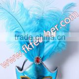 New Products 2016 Feather For Mask Goose Feather And Ostrich Feather Mask For Adult Sex Mask Wedding Supplies
