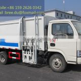 2015 China hot sale Hang barrel type bin garbage truck