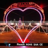 LED Motif Light decoration / big heart-shaped led lighting for wedding/valentine's day decoration