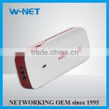 Hot selling Mini wireless router Built-in 4300mAh Lithium Battery, Mobile Power bank 3G wifi router