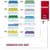 low price Best Quality 28 gauge corrugated steel roofing sheet