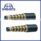 good sever wire spiral hydraulic rubber hose