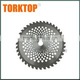 china supplier brush cutter spare parts 40 teeth Circular Carbide Saw Blade for grass cutting