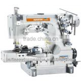 NT 664-02BB interlock for sewing rolled-edge high speed small flat-bed interlock Sewing Machines for sewing ROLLED-EDGE