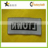 2015 Alibaba website natural high quality factory direct baby clothes cheap woven clothing label