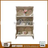 Shabby Chic Wooden Wall Kitchen Cabinet Simple Design,Decorative Display Hanging Wall Shelf