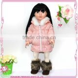 Doll clothes sale hot pink animal print fur trim doll jacket