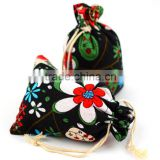 Sublimation jute small drawstring bag china supplier                                                                                                         Supplier's Choice