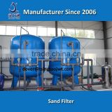 Multi-media sand filter for waste water filtration