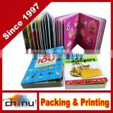 Coloring book with color pen,Printing book.photo book,stereo pop up 3d children book(550013)