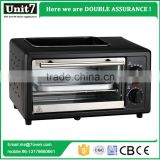 Hot sale Unit7 bread baking oven cooking pan with electrical oven