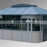 2012 New Plastic wood outdoor Gazebo