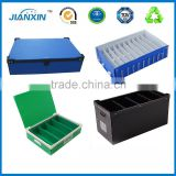 Custom ESD Antistatic Black Corrugated Plastic Hollow Board Shipping Box                                                                         Quality Choice