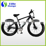 Hidden battery 26*4.0 inch 350W fat tire cheap electric bicycle                                                                         Quality Choice                                                     Most Popular