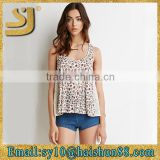 New style OEM stringer women tank wholesale, racer back tank top wholesale