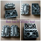 Bock fk40 air compressor TYPE K cylinder heads,bus air conditioner compressor component head cylinder