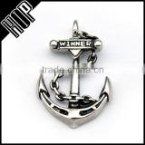 Best selling fashion stainless steel vintage anchor charm
