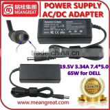 19.5V 3.34A for DELL PA-12 65W Power Supply External Laptop Battery Charger/Laptop Adapter