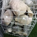China wholesale Welded gabion / garden gabion landscape / stone cage retaining wall/hesco