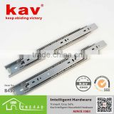 stainless steel 3 folds ball bearing kitchen cabinet drawer slide channel