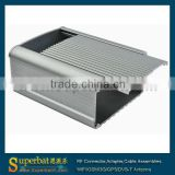 "Aluminum Box Enclosure Case -4.33""*3.54""*2.17""(L*W*H) plastic baby wipe box"