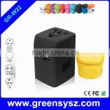 GR-W22 Business gift multipurpose travel adapter with 2 usb ports                                                                         Quality Choice