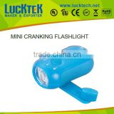 mini cute hand pressing flashlight