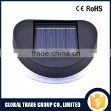 551622 CE and ROHS Extra Bright White LED Plastic Structure with Chrome Plated Surface 4PCS Solar Light Set