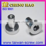 Hexagon Slotted Head Cap Aluminum Anodizing Nuts Bicycle Parts