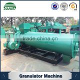 Low cost peat organic fertilizer granule manufacturing plant