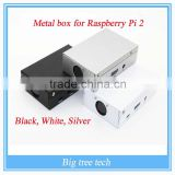 Exclusive sale! Sliver Metal Box - Iron Case For Raspberry Pi 2 /Raspberry pi 3 With Fan Also Fit For Camera