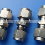 stainless steal NPT male thread tube connector