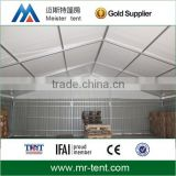 Metal frame material double coated strong pvc shelter tents for workshops