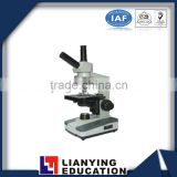 Lab led electron binocular microscope