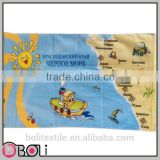 beautiful island cotton custom beach towel fouta wholesale